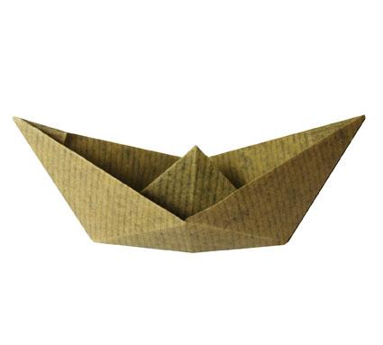 mod le origami de bateau en papier. Black Bedroom Furniture Sets. Home Design Ideas