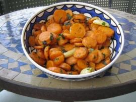 recette salade de carottes la marocaine. Black Bedroom Furniture Sets. Home Design Ideas