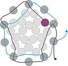 Schéma du Pendentif Boule en Perles